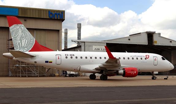 Air Lituanica Logo, New