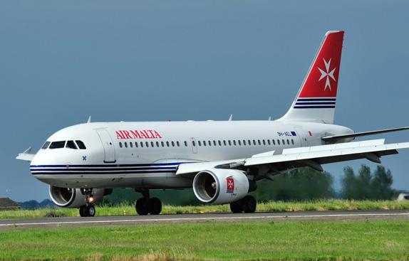 Air Malta Logo and Livery