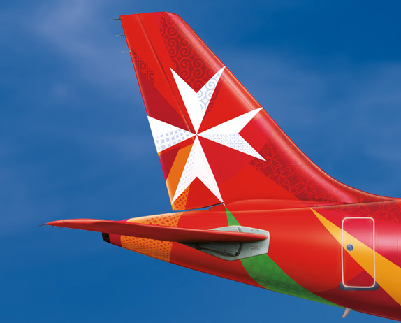 Air Malta Logo and Livery