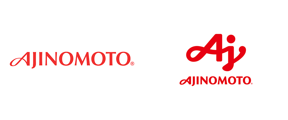 New Logo for Ajinomoto