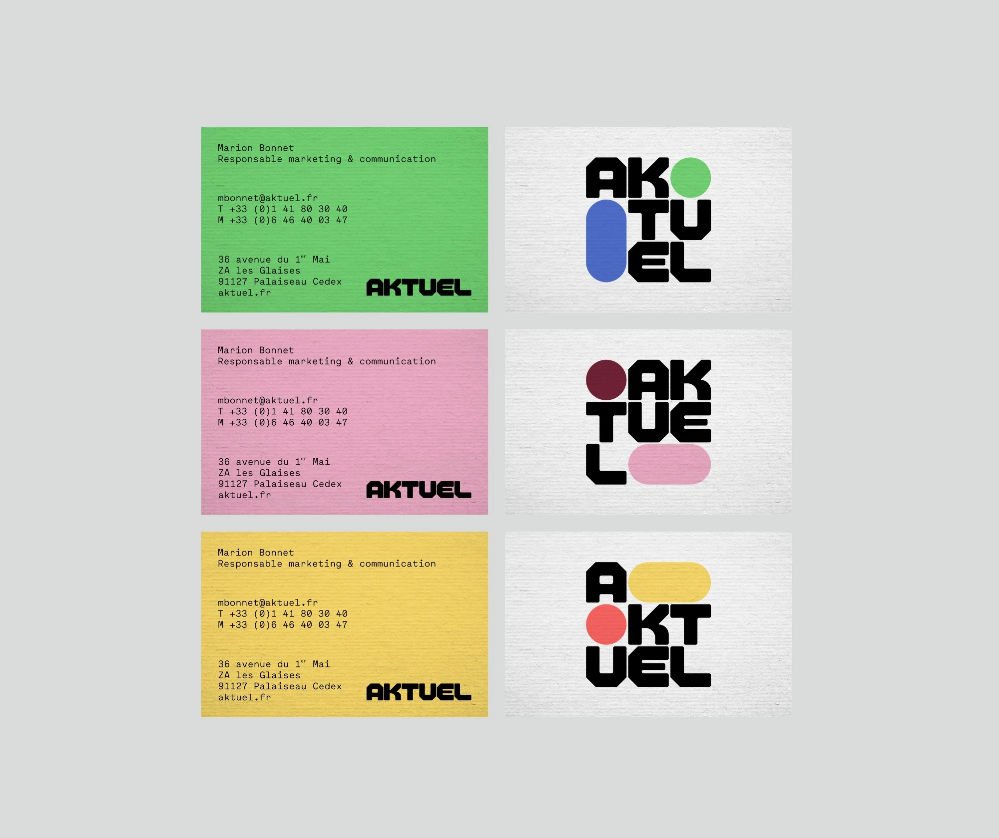 New Logo and Identity for Aktuel by Brand Brothers