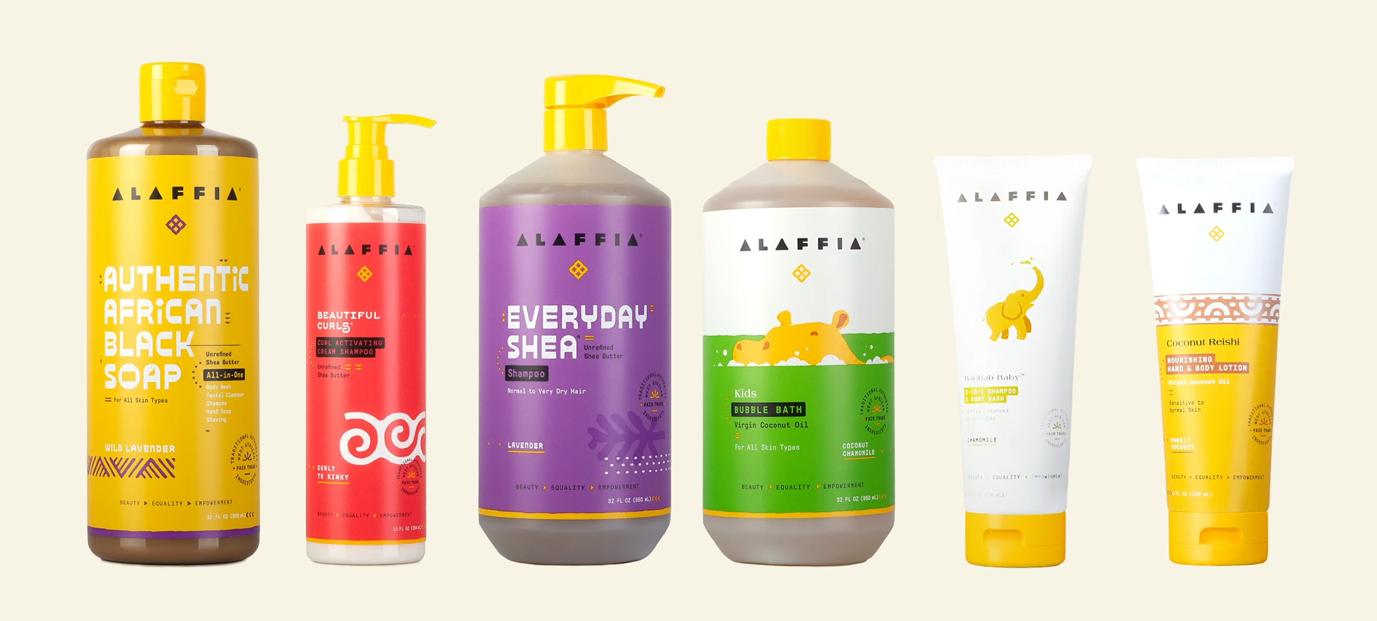 New Logo and Packaging for Alaffia by Chen Design Associates