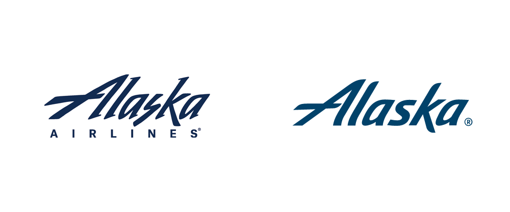 Logo Identity And For Livery New Anderson Hornall Airlines New Brand By Alaska