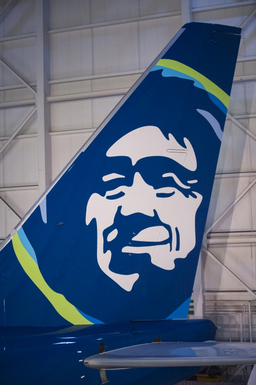 New Logo, Identity, and Livery for Alaska Airlines by Hornall Anderson