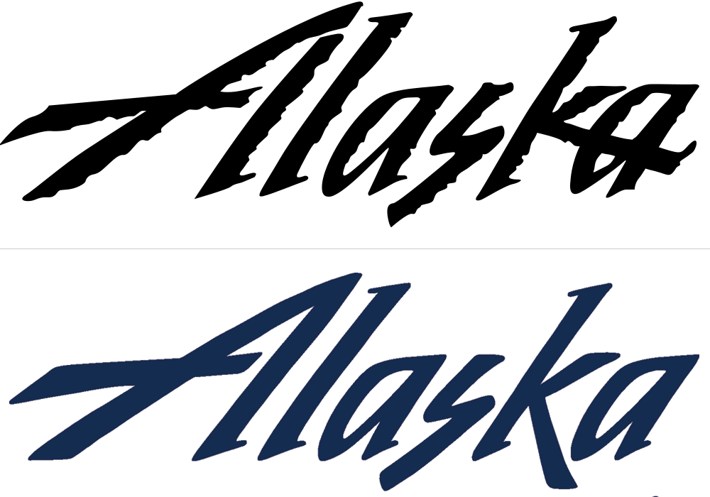 New Logo for Alaska Airlines