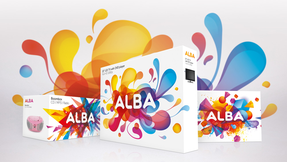 New Logo and Packaging for Alba by Elmwood