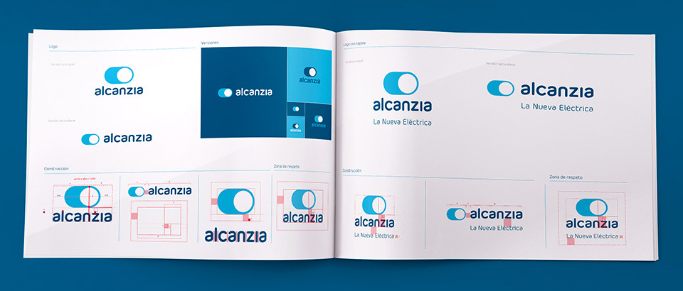 New Logo and Identity for Alcanzia by Small