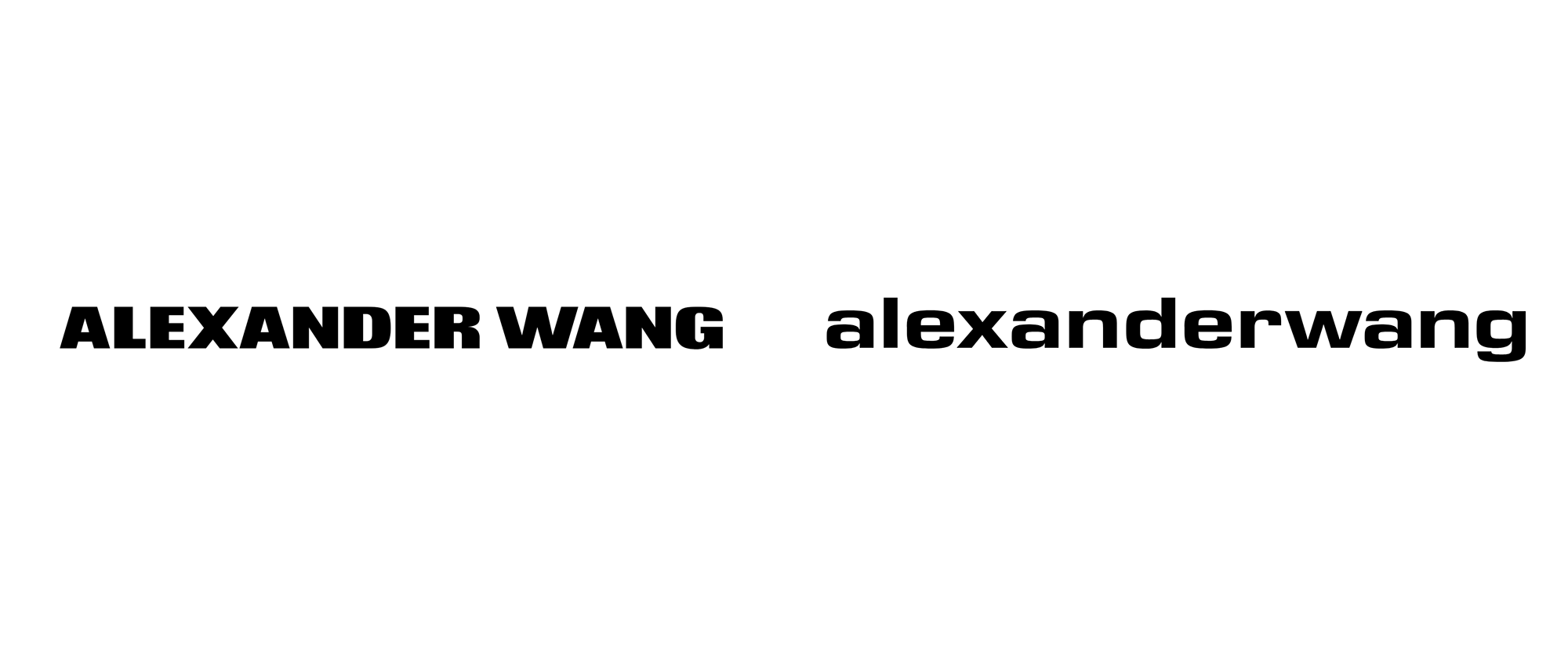 New Logo for Alexander Wang