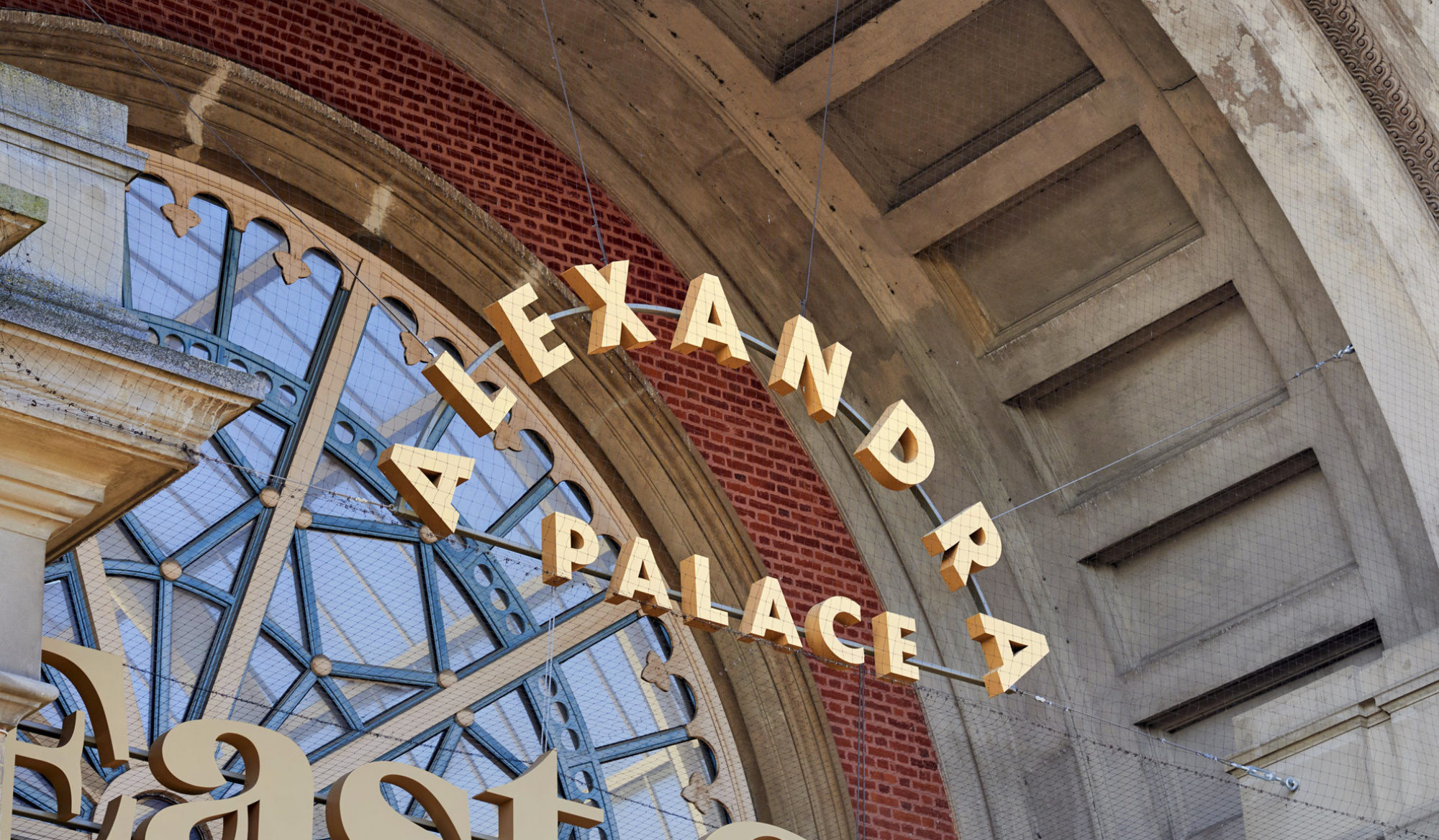 New Logo and Identity for Alexandra Palace by Lovers