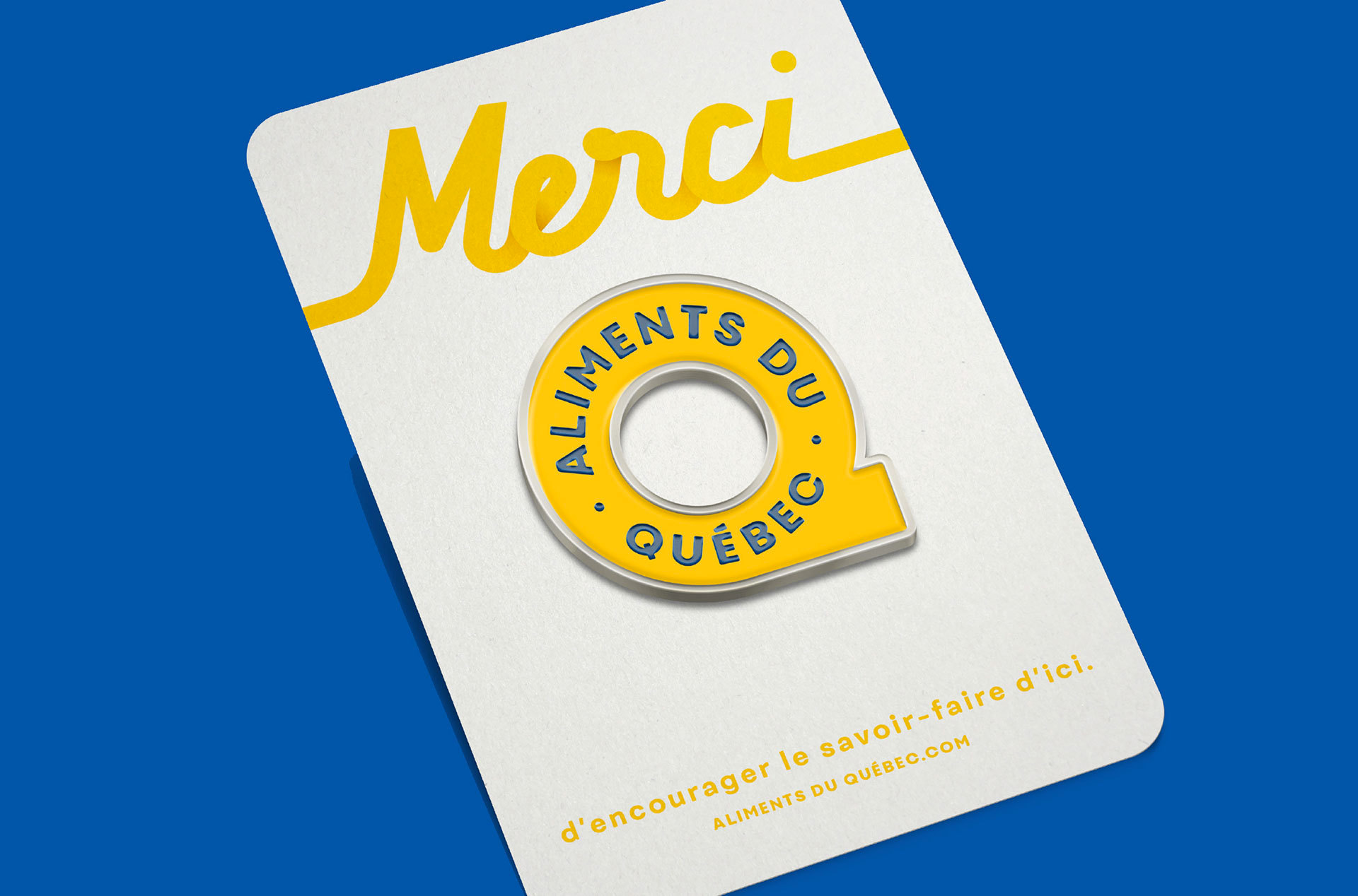 New Logo and Identity for Aliments du Québec by lg2