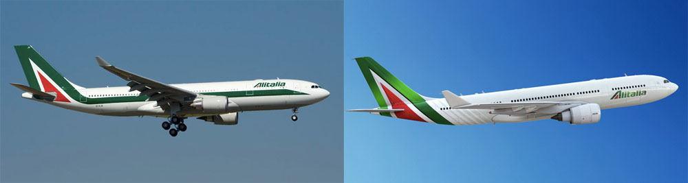 New Logo and Livery for Alitalia by Landor