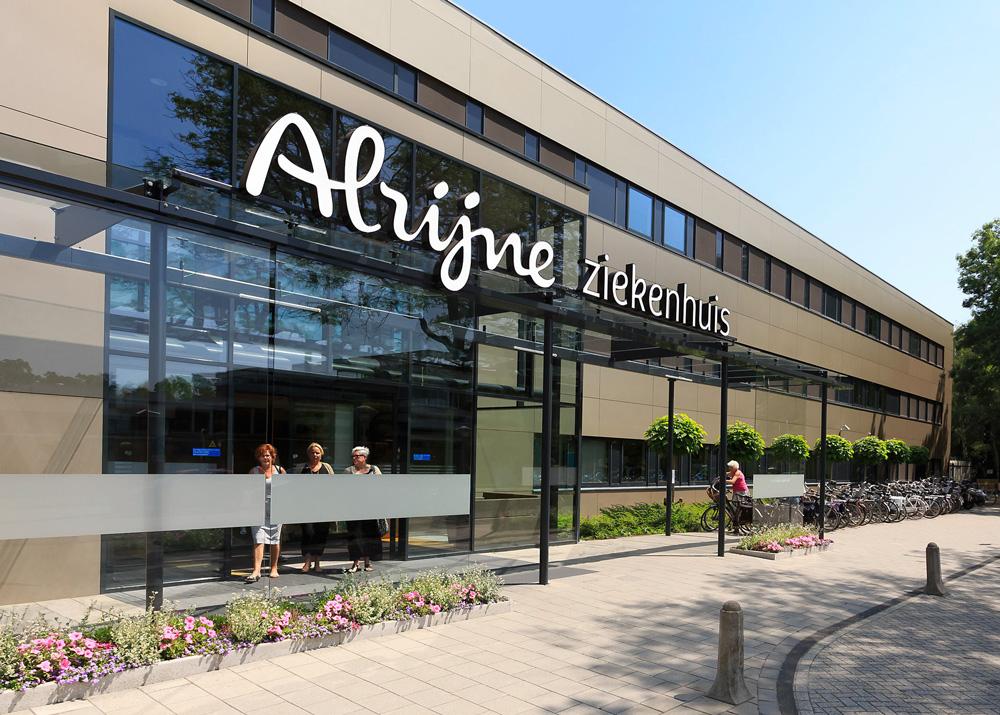 New Logo and Identity for Alrijne Zorggroep by Taken by Storm