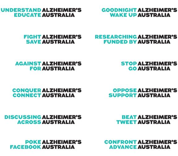 Alzheimer's Australia