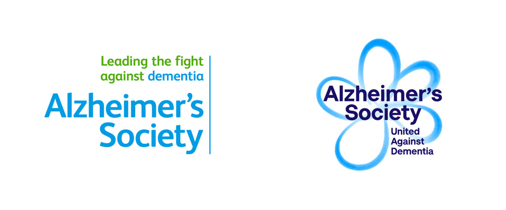 New Logo and Identity for Alzheimer's Society by Heavenly