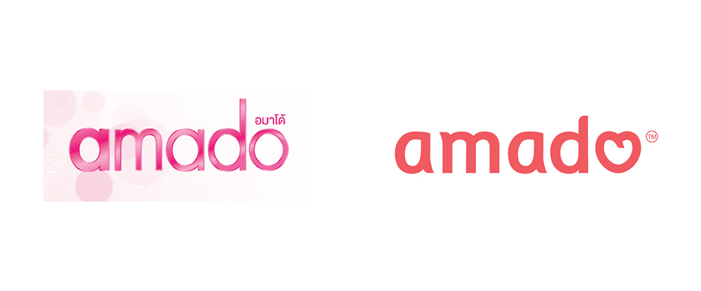 New Logo and Identity for Amado by ihapstudio
