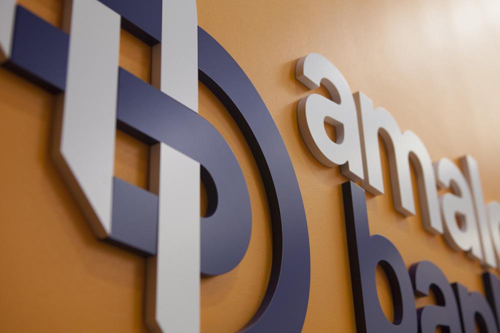 New Logo and Identity for Amalgamated Bank by Pentagram