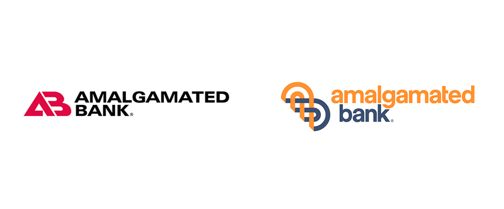 Brand New New Logo And Identity For Amalgamated Bank By Pentagram