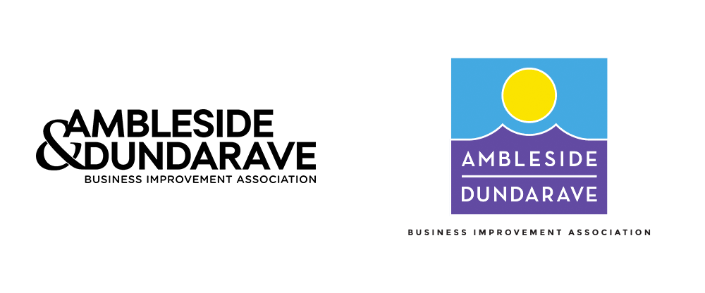New Logo and Identity for Ambleside-Dundarave BIA by Kimbo Design
