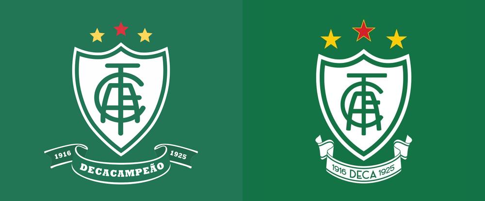 New Logo for América Futebol Clube by Adriano Ávila Alamy