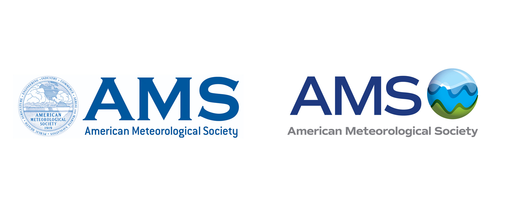 New Logo for American Meteorological Society