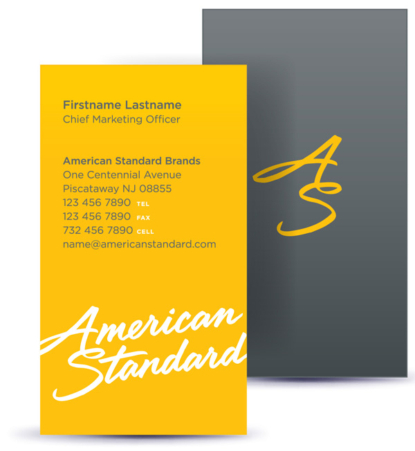Brand New: New Logo, Identity, and Packaging for American Standard ...