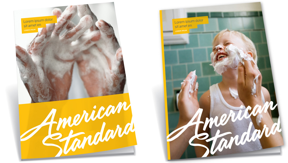 New Logo, Identity, and Packaging for American Standard by Sterling Brands