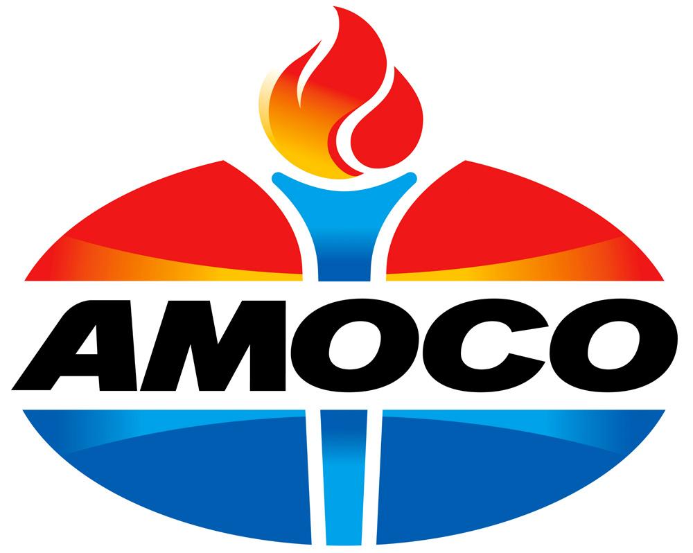 brand new new logo for amoco
