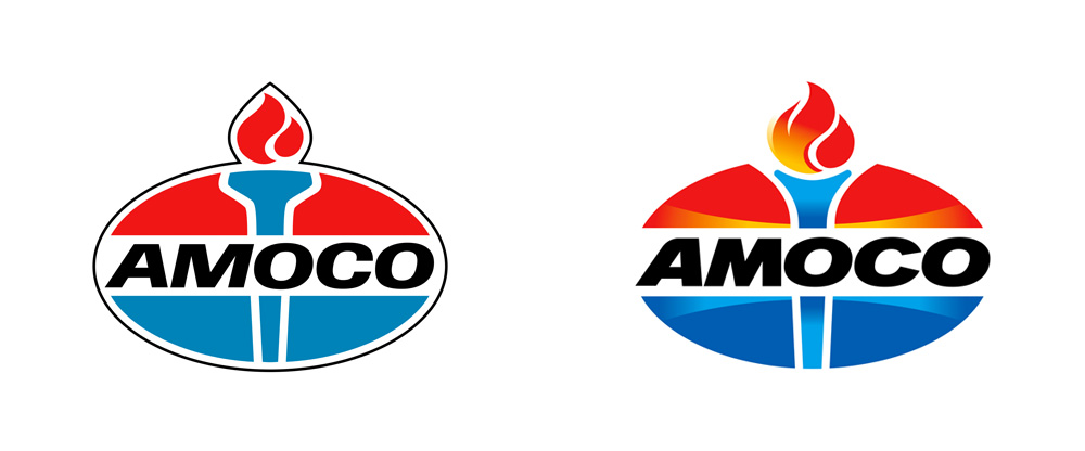 New Logo for Amoco