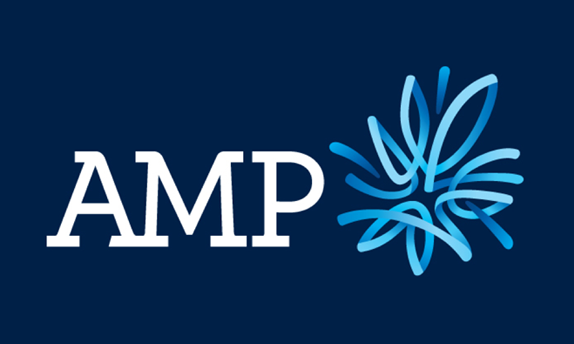 AMP Logo, Before and After