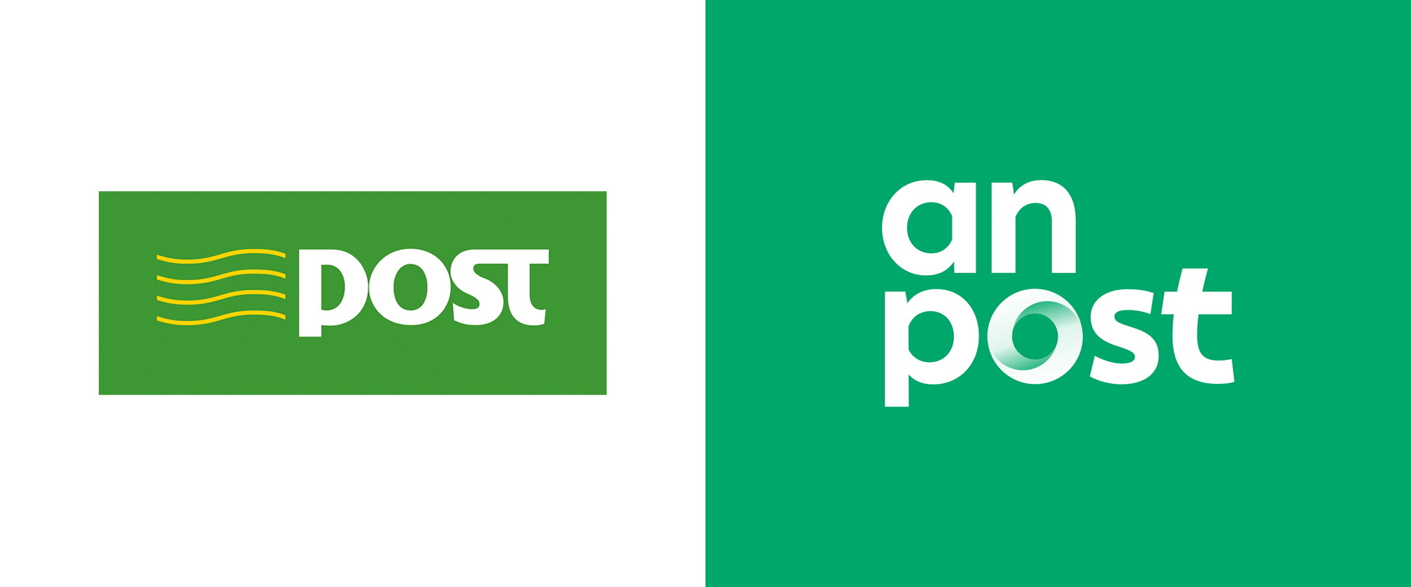 New Logo and Identity for An Post by Image Now
