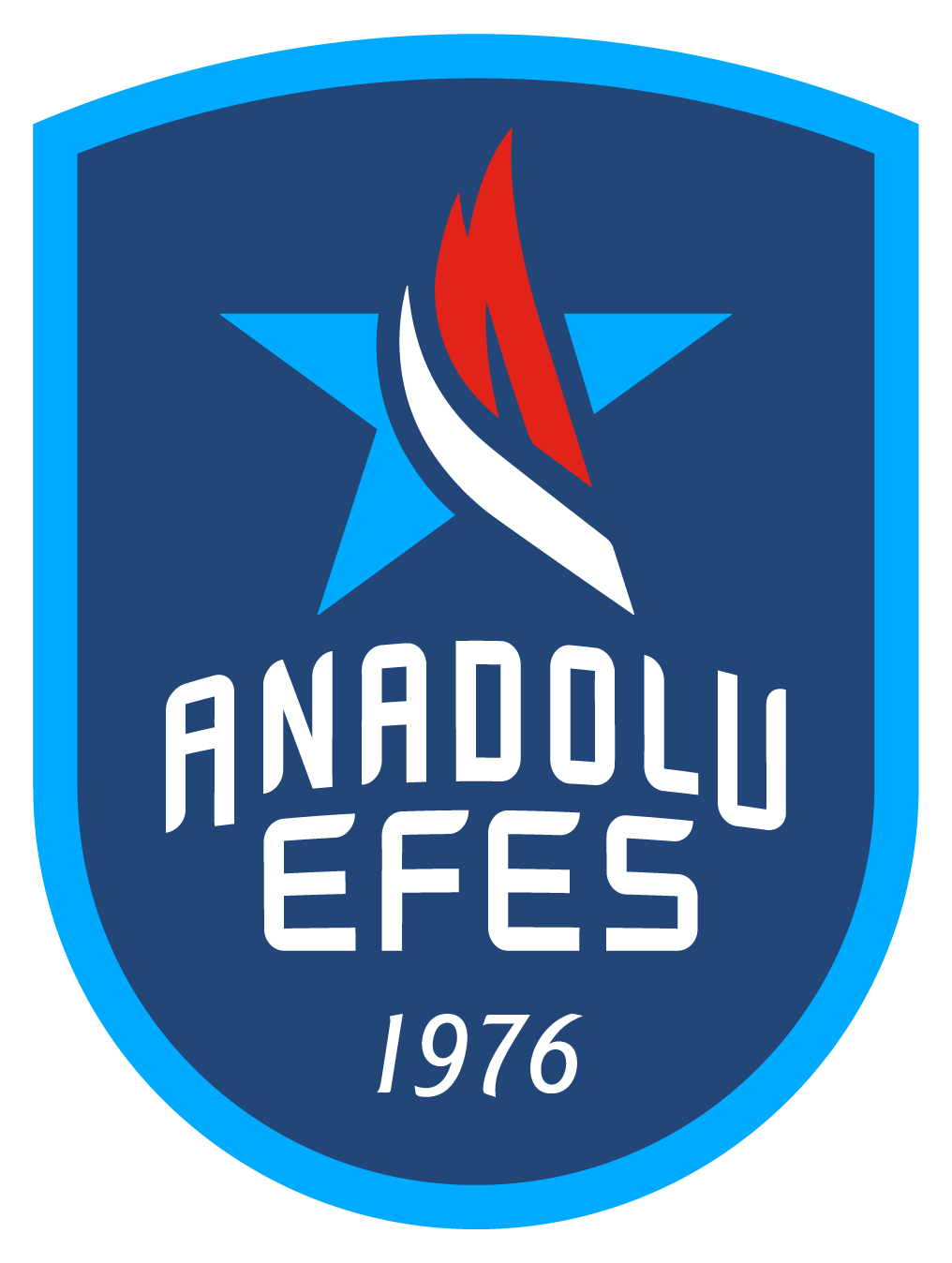 New Logo for Anadolu Efes Sports Club by Brown&co