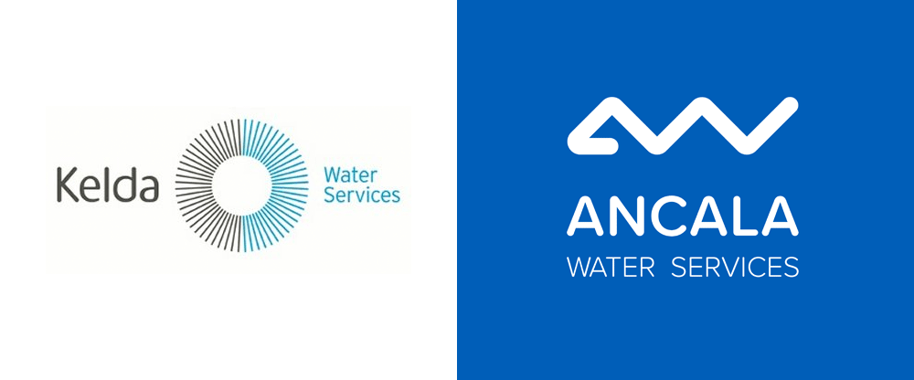 New Logo and Identity for Ancala Water Services by Moirae