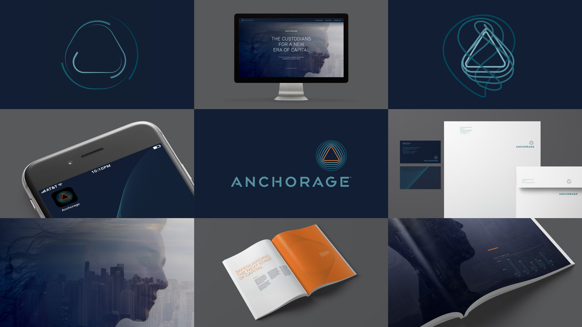 New Logo and Identity for Anchorage by Stitzlein Studio