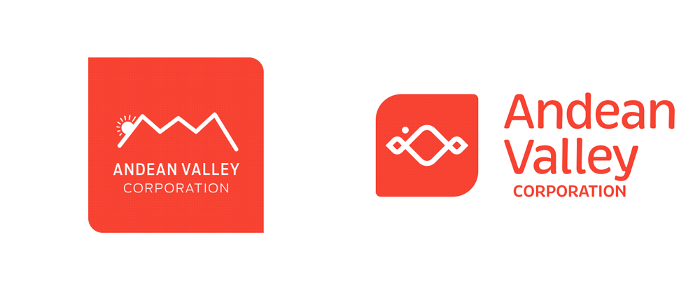 New Logo and Identity for Andean Valley Corporation by átiblo