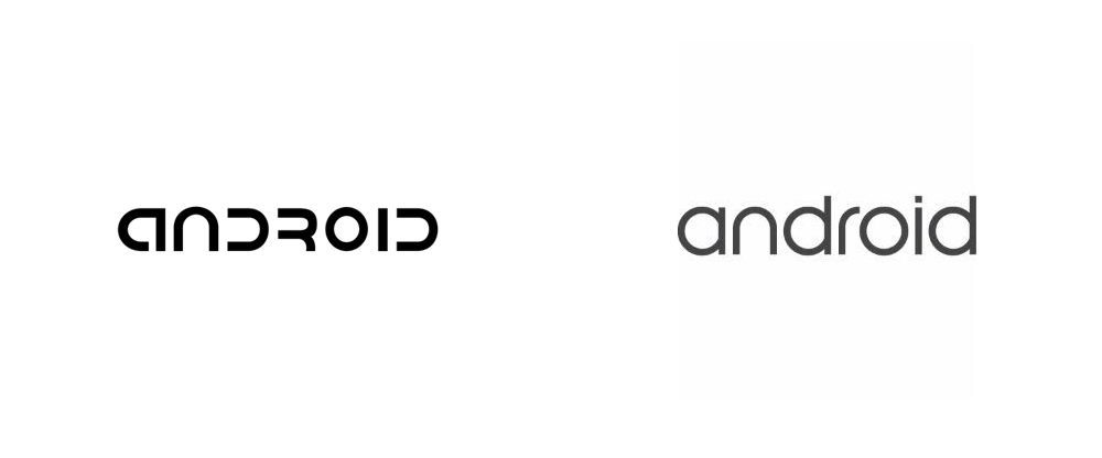 Brand New: New Logo for Android