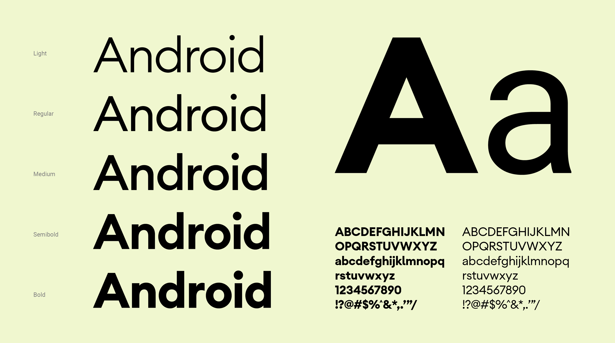 New Logo and Identity for Android by Huge
