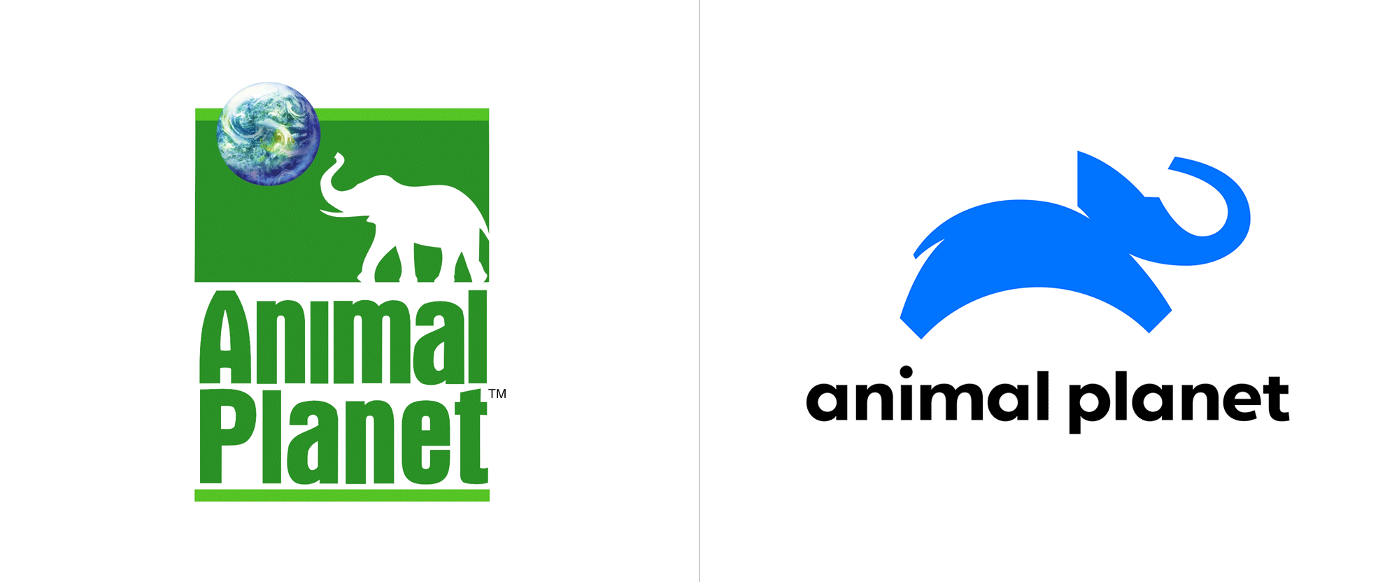 Brand New: New Logo for Animal Planet by Chermayeff