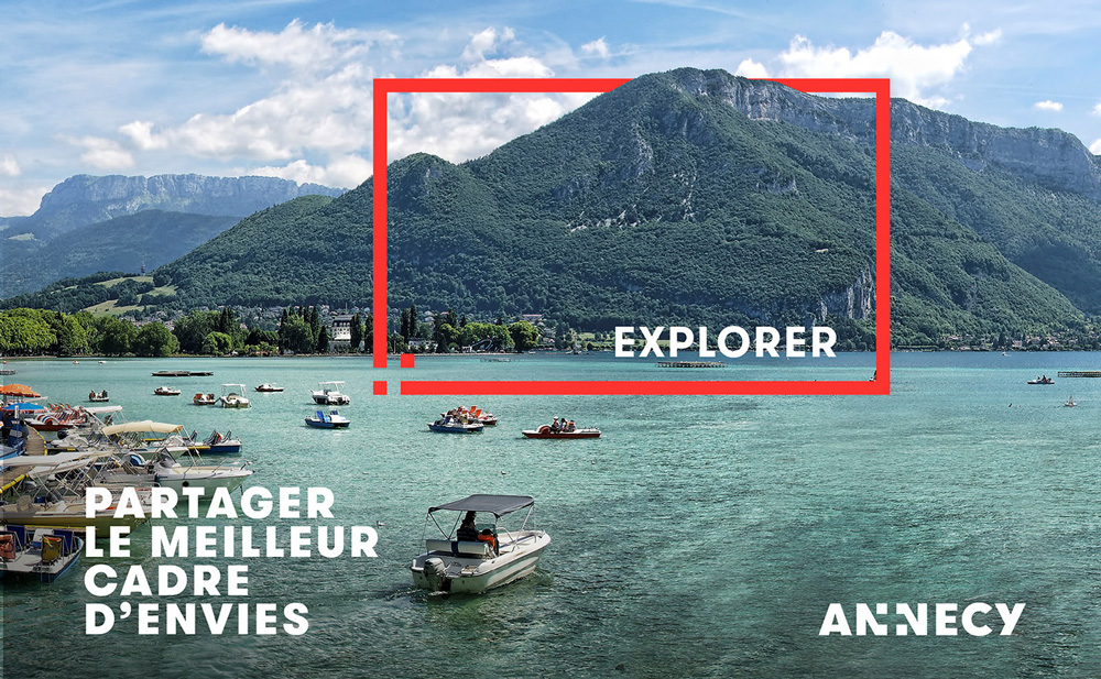 New Logo and Identity for Annecy by Graphéine