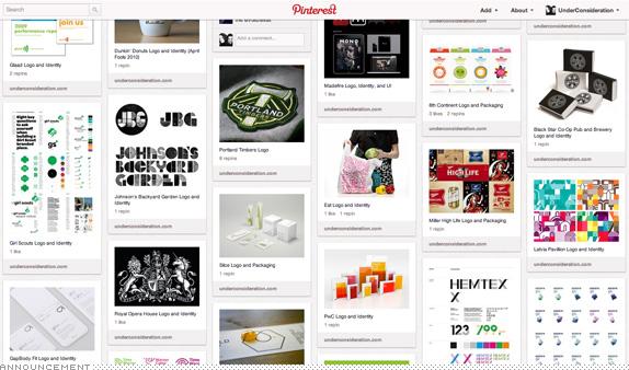 Brand New Highlights Pinterest Board