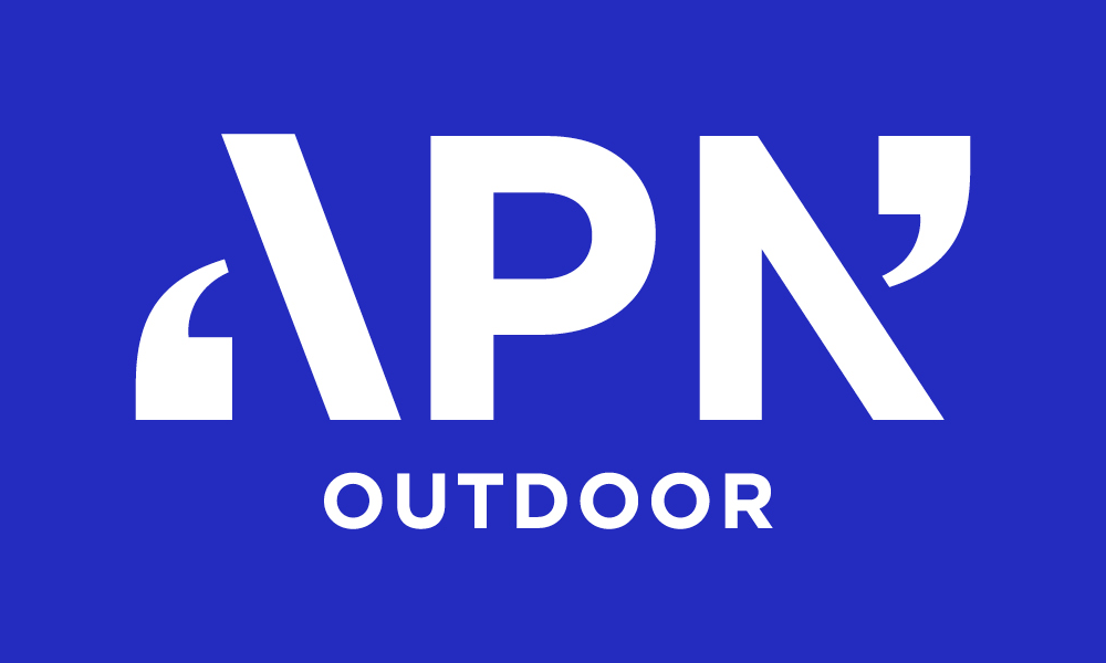 New Logo and Identity for APN Outdoor by Hulsbosch