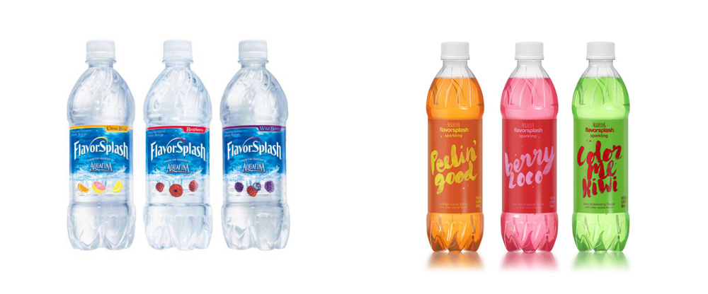 Reviewed: New Packaging for Aquafina FlavorSplash by ...
