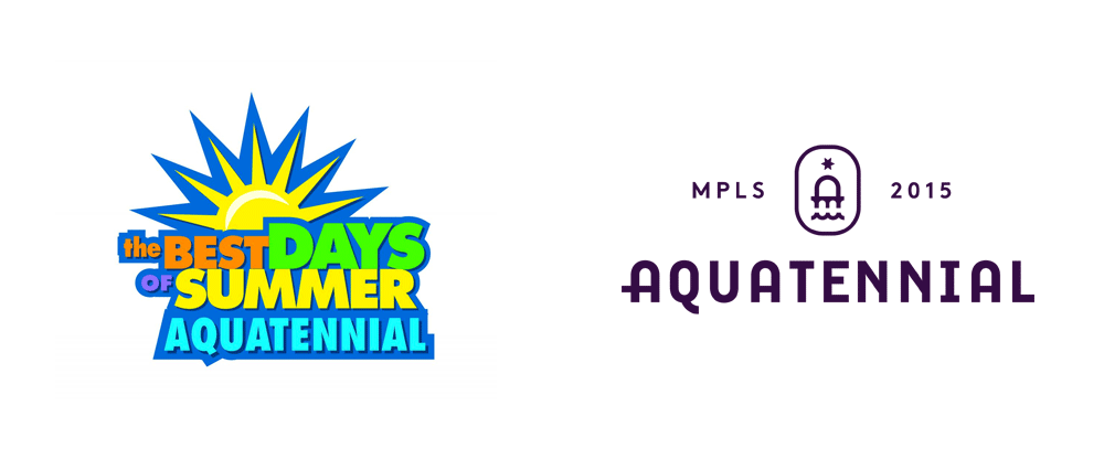 New Logo and Identity for Minneapolis Aquatennial by Zeus Jones