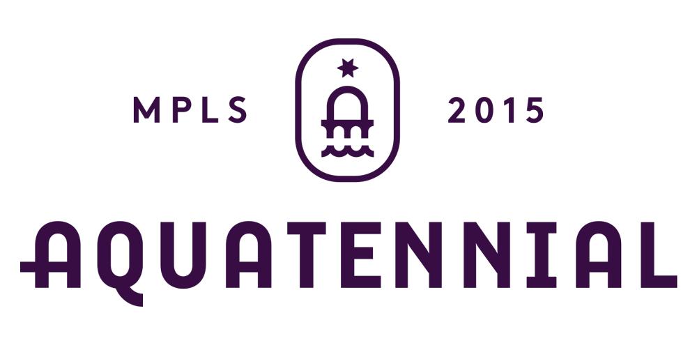 New Logo and Identity for Minneapolis Aquatennial by Zeus Jones