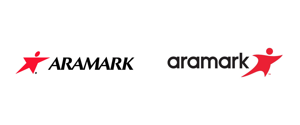Brand new new logo for aramark