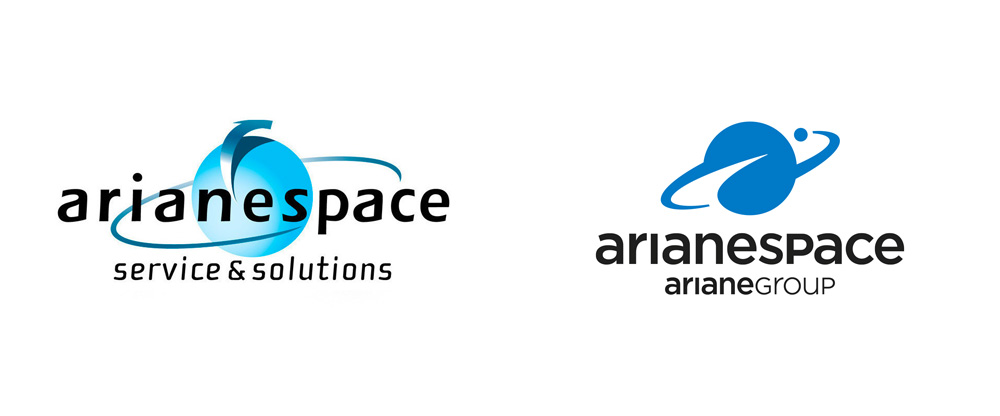 New Logo for Arianespace by Carré Noir