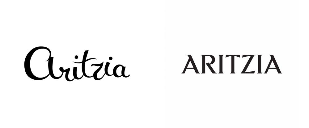 New Logo for Aritzia
