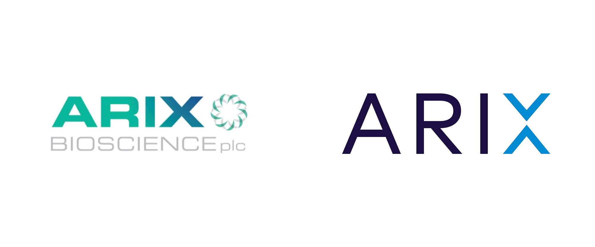 New Logo and Identity for Arix Bioscience by Ether Creative