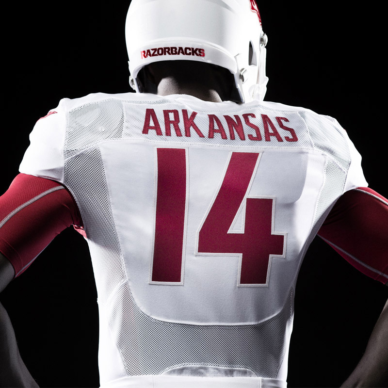 New Identity and Uniforms for Arkansas Razorbacks by Nike