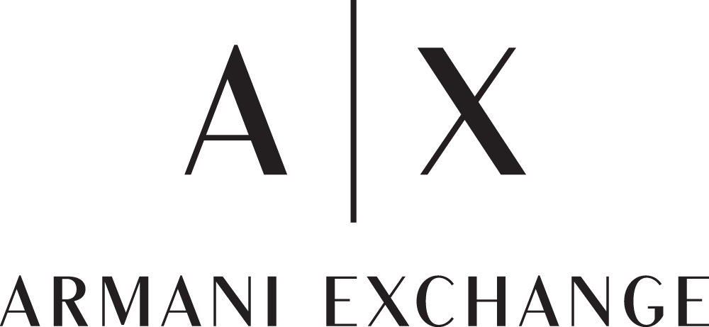 New Logo for Armani Exchange done In-house in collaboration with Anagrama