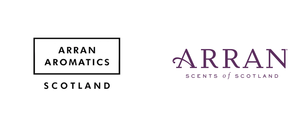 New Logo, Identity, and Packaging for Arran by Oy
